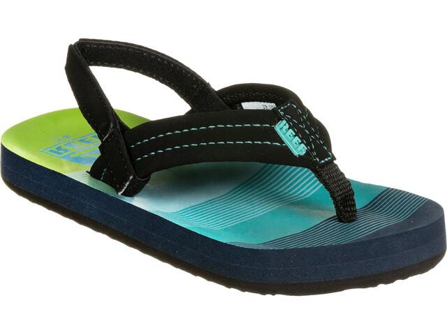 Reef Ahi Chaussures Enfant, aqua/green